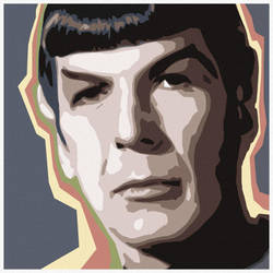 Spock by garybonner