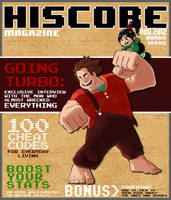 Wreck-it Ralph Faux Magazine by NinthTale