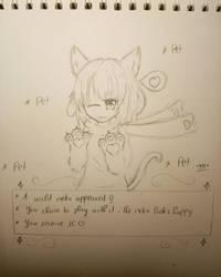 Bored in class by Mekayumi