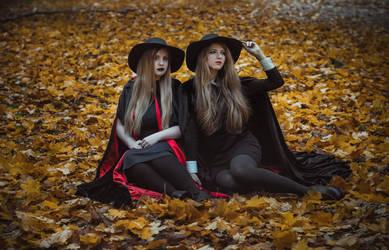 Witch's autumn by KirikoSan