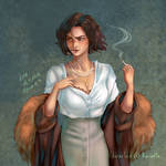 Ravietta's Eriu - DTIYS by Fayen-ri