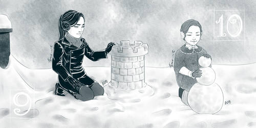 9th and 10th December: Snow-building by Fayen-ri
