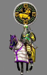 Barmakiyan Asavaran Armoured Horsearcher by Gaiiten