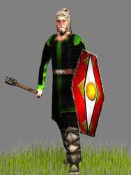 Saxon Clubman (around 410AD) by Gaiiten