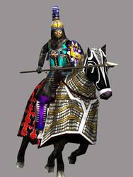 Sassanian Surena Asavaran Clibinarius Lancer by Gaiiten