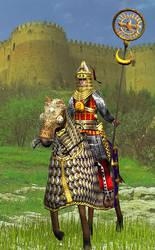 Sassanian Standard Bearer by Gaiiten