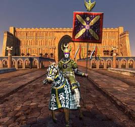 Sassanian Royal Banner - The Derafsh Kaviani by Gaiiten