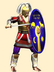 Roman Centurion 3rd-Century AD  (Legion I Italica) by Gaiiten