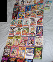 My Manga Collection by KingdomHeartsFrantic