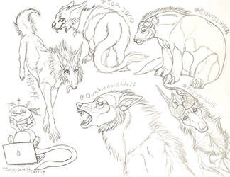 Vesper Chat Sketch Requests 2 by galianogangster