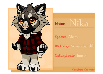 [CC] Nika by galianogangster