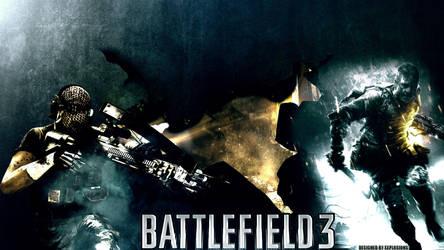 Only In Battlefield 3 | BF3 Desktop Wallpaper by Xxplosions