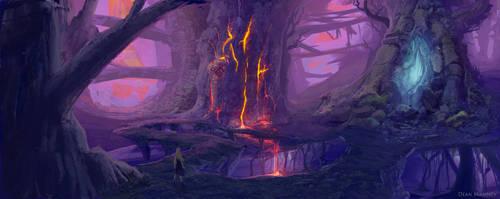 Wyrb Woodland by DrD-no