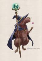 Magic Capybara by Anterie