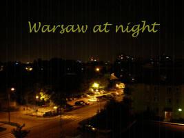 Warsaw At Night by nover