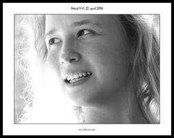Astrid: Portrait in class 2 by sirlatrom