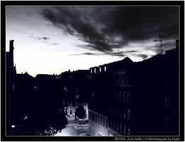 Griffenfeldsgade by Night by sirlatrom