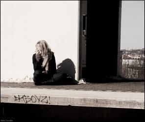 Louise smoking by sirlatrom