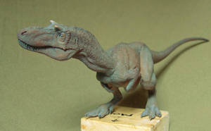 Juvenile Gorgosaurus libratus by Gorgosaurus