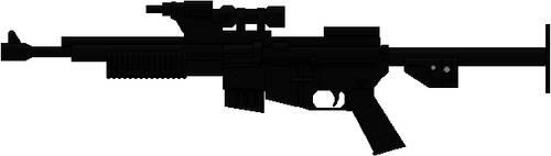 BlasTech A280 Blaster Rifle by Hybrid55555