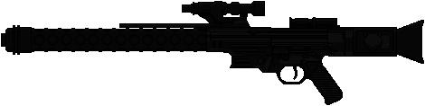 BlastTech DLT-20A Blaster Rifle by Hybrid55555