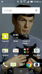 my phone screen by scottish-geeky