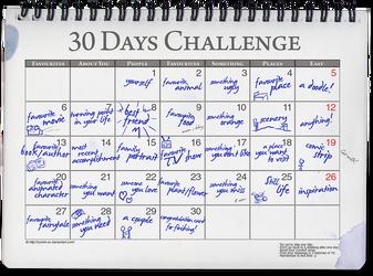 30 Days Challenge Meme by ryoshi-un