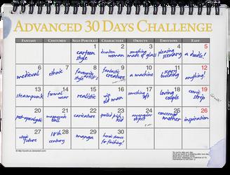 Advanced 30 Days Challenge by ryoshi-un