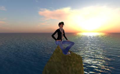 Jenny At Sunset by ArdRhi