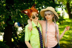 Judy x Nick cosplay by Seliverstova