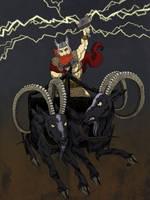 God of Thunder by monkette