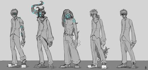 SOMA creatures (My Universe version) by masterzoroark666