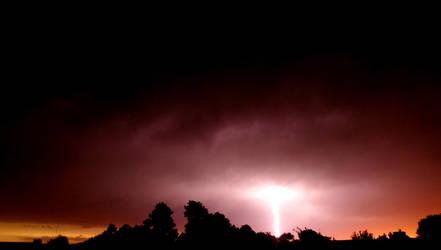 The passing storm by Stilleschrei