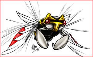 Ninjask by Nanasschevelu