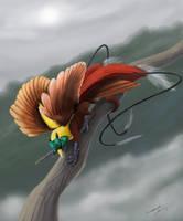 Gryphon of Paradise by Nanasschevelu