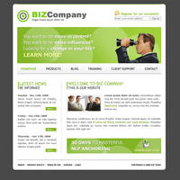 Biz Company Template by apokalypseAT