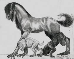 Creatures by rockedgirl