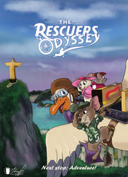 The Rescuers Odyssey - Disney Fanart concept by 0ptimusgames3