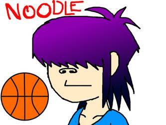 Gorillaz Noodle by FoxTail8000