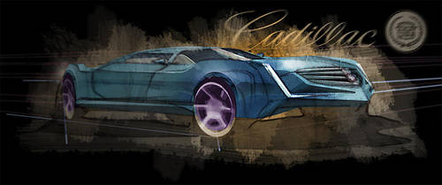 Cadillac STC Sketch by mikelyden