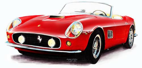 Ferrari 250 GT California SWB by mikelyden