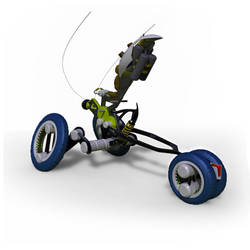 VespaPura - an Interrobang Toys vehicle by mikelyden