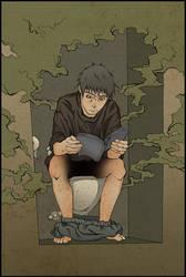 Toilet Struggle by Ethird