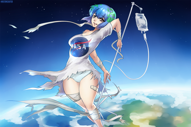 Earth-chan by hotbento