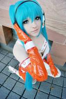 Miku Hatsune - Good Smile Racing by JessicaUshiromiyaSan