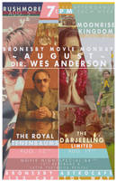 Wes Anderson - August Movie Mondays by TheAstro