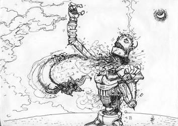 Robot Kick by TheAstro