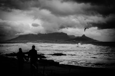 Table Mountain Beach Couple by Nosdi