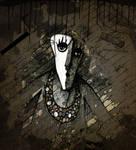 Black magic Shaman by jewelryandstuff