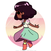 Steven Universe - Connie by KeiArubino